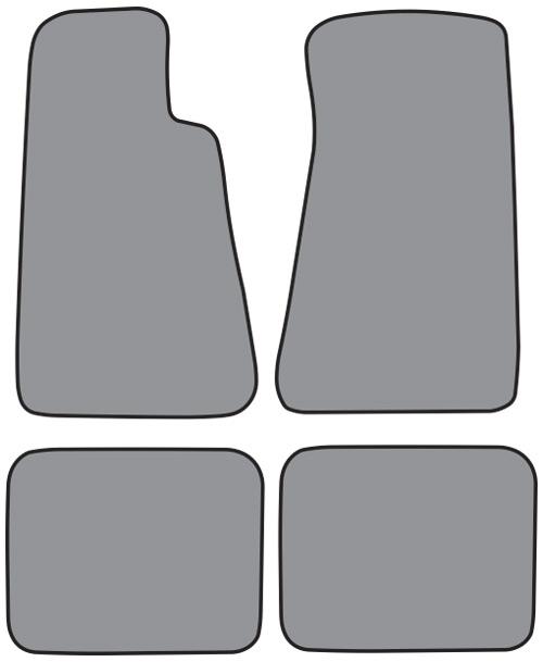 Cutpile Floor Mat For Your 1991 1996 Chevrolet Caprice Floor Mat Without Snaps 4pc Cutpile Car Truck Interior Carpet
