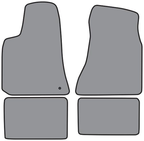 Cutpile 2pc 2005-2010 Dodge Dakota Floor Mats