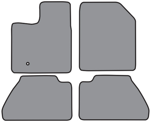 Ford Edge Floor Mat Pc Cutpile