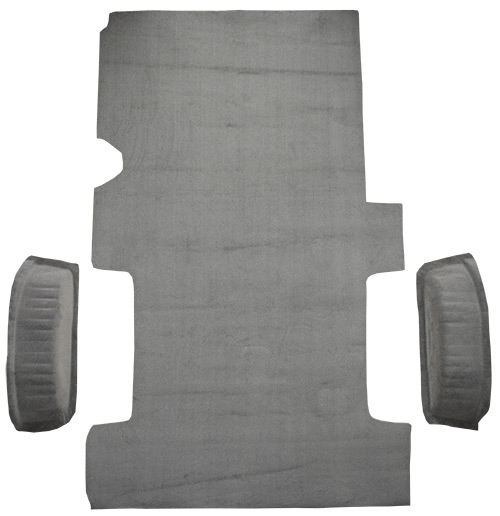 Replacement Cutpile Carpet 1997-2004 Ford F-150 Extended Cab New Body Style