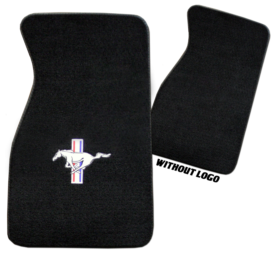 Floor mats embroidered -